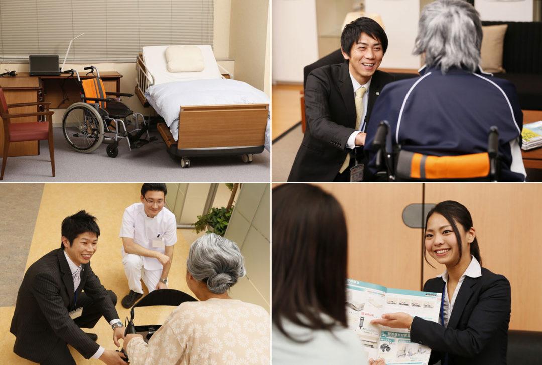 地域との連携で、快適な介護社会に貢献します。